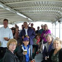 Networking on the Essex River Event